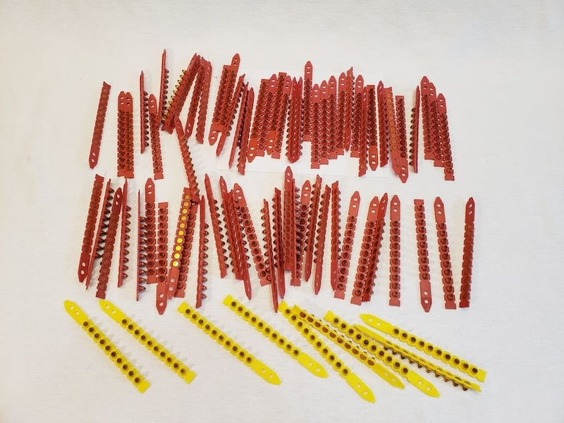 9 Yellow + 67 Red Lot of Hilti Cal.  (Phone number hidden by letgo) 04842 Cal. 27 Short #5  cdc64526-782b-48a5-a3b8-6c3349b10a3f
