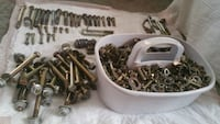 Bolts washers nuts all $100. all are full sets Havre de Grace, 21078
