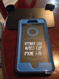 Defender case with the belt clip for iPhone 7 +8+ Phoenix, 85353