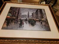 Stunning Artwork signed by Robert Lebron  Mississauga, L5J 2E5
