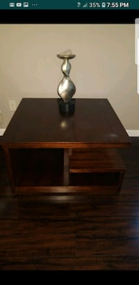 (2) Mid Century Modern Solid Wood End Tables Snellville, 30078