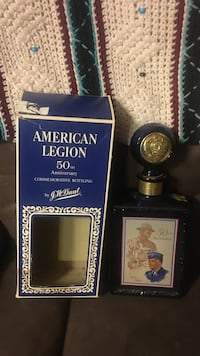 American Legion commemorative bottling with box Roswell, 88201