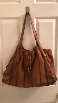 brown leather 2-way bag Vancouver, V5P 3R2