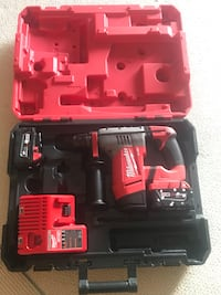 Milwaukee Fuel 1-1/8 sds cordless brushless hammer Calgary, T2S 0A9
