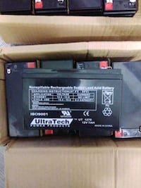 UltraTech Nonspillable Rechargeable Sealed Lead Asid battery 12v 7AH. Edmonton, T5T 2C8