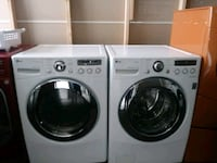 white front-load washer and dryer set Phoenix, 85009