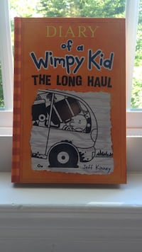 """diary of a wimpy kid the long haul"" book by jeff kinney - new condition Burke, 22015"