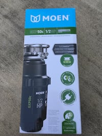 NEW Moen GXP50C GX PRO Series 1/2 hp Continuous Feed Garbage Disposal Springfield, 22151