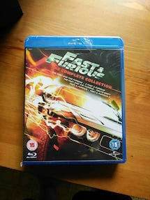 Fast and Furious  1.2.3.4.5 blu-ray