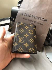 black and brown Louis Vuitton leather bifold wallet Vancouver, V6P 2X2