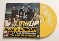 Blue & linkup cd single you and me bubblin (m. pokora) Saint-Laurent-Blangy, 62223