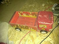 red and yellow dump truck toy Spokane, 99207