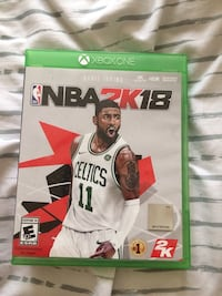 Xbox One NBA 2K18 game case Washington, 20032