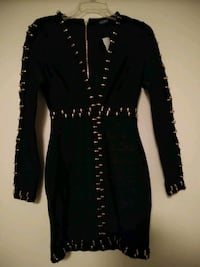 """NEW! """"NEVER WORN"""" UNIQUE  DRESSY BLACK DRESS Knoxville, 37924"""