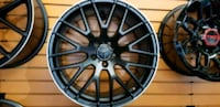 "Mercedes Benz 19"" blk amg style new rims tires set Hayward, 94545"
