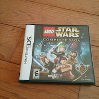 LEGO STAR WARS THE COMPLETE SAGA. NINTENDO DS Fairfax, 22030