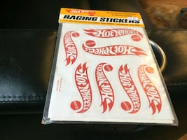 Hot wheels racing stickers