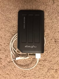 Portable charger with iphone usb charge cable Los Angeles, 90036