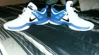 Size 12 white and blue nikes Yakima, 98908