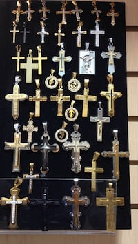 Stainless Steel gold plated crosses  Mississauga, L4T 2T9