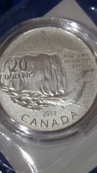 Iceberg and Whale limited edition coin Canada