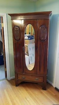 brown wooden cabinet with mirror Centreville, 20121