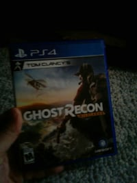 PS4 ghost recon game case Coventry, 02816