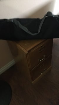 black and brown wooden dresser Vancouver, 98661