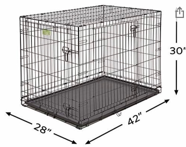 Large dog crate - brand new