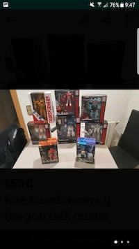 Lote transformers y Dragon ball Rubí, 08191