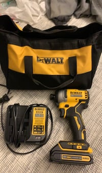 Dewalt 20volt brushless lithium ion battery impact drill