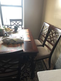 6 chair table like new to big for my new apartment  New York, 10463