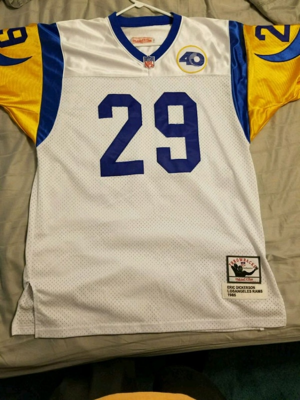 lowest price 386c7 5ab2f Mitchell Ness Authentic Eric Dickerson 52 XXL