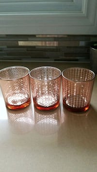 Set 3 brand new bar glasses. $5 Belleville, K8P 4H1
