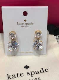 Authentic Kate Spade earrings- new Pickering, L1V 5N2
