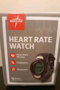 MEDLINE HEARTRATE WATCH  Knoxville, 37912