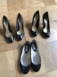 Size 6.5 heels and free flats Derwood, 20855