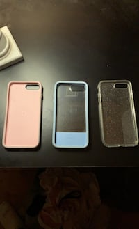 Gel otter box cases for iPhone 6, 7, and 8 plus  , V0R 1X5