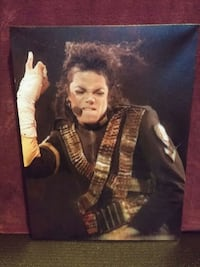 "12"" × 16"" Michael Jackson Canvas Print"