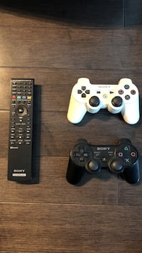 PS3 controllers and remote