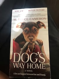 Paperback dogs way home book  Glen Burnie, 21061