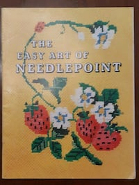 ORIGINAL, VINTAGE, 1973,  'THE EASY ART of NEEDLEP Newmarket, L3Y 3J3