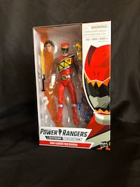 Red Dino Charge Power Ranger Chicago, 60652