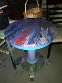 Custom Painted Entry Table