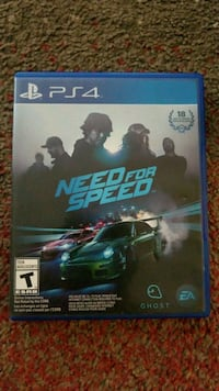 Need for Speed PS4 game case Green Bay, 54301