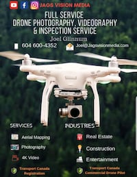 Aerial Drone Photography & Videography Abbotsford