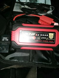 Mini car battery charger and accessories