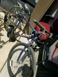 purple and white hardtail mountain bike Chevy Chase, 20815
