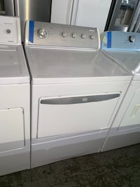 Whirlpool gas dryer working perfectly