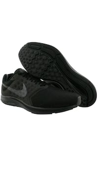 black and gray Nike basketball shoes.11.5 Pawtucket, 02861